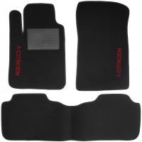Коврики в салон для Citroen C5 / DS5 '08- текстильные, черные (Стандарт)