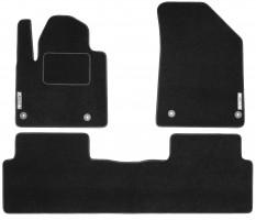 Коврики в салон для Citroen C5 '08- текстильные, черные (Стандарт)