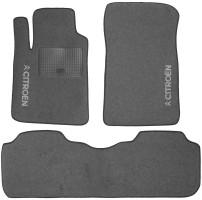 Коврики в салон для Citroen C5 / DS5 '08- текстильные, серые (Стандарт)