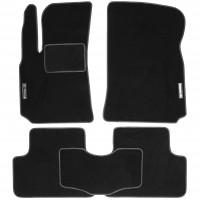 Коврики в салон для Daewoo Lanos / Sens '98- текстильные, черные (Стандарт)