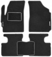 Коврики в салон для Daewoo Matiz '01- текстильные, серые (Стандарт)