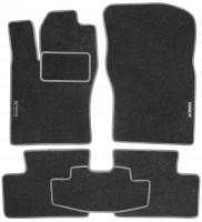 Коврики в салон для Daewoo Nexia текстильные, серые (Стандарт)