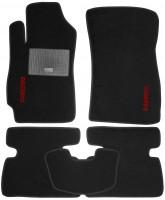 Коврики в салон для Daewoo Nubira '99-04 текстильные, черные (Стандарт)