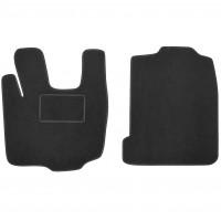 Коврики в салон для DAF XF 105 текстильные, черные (Стандарт)
