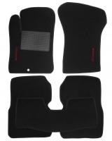 Коврики в салон для Dodge Avenger '07-13 текстильные, черные (Стандарт)