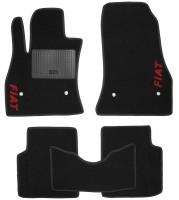 Коврики в салон для Fiat 500 '08- текстильные, черные (Стандарт)