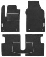 Фото 1 - Коврики в салон для Fiat 500 '08- текстильные, серые (Стандарт)