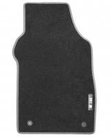 Фото 3 - Коврики в салон для Fiat 500 '08- текстильные, серые (Стандарт)