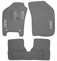 Коврики в салон для Fiat Albea '02-11 текстильные, серые (Стандарт)