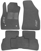 Коврики в салон для Fiat Doblo '10- текстильные, серые (Стандарт)