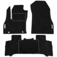 Коврики в салон для Fiat Fiorino Qubo '08- текстильные, черные (Стандарт)