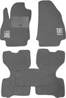 Коврики в салон для Fiat Fiorino Qubo '08- текстильные, серые (Стандарт)