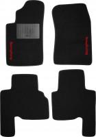 Коврики в салон для Ssangyong Actyon '06-12 текстильные, черные (Стандарт)