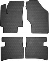 Коврики в салон для Hyundai Accent '06-10 резиновые (Stingray)