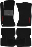 Коврики в салон для Subaru Forester '03-08 текстильные, черные (Стандарт)