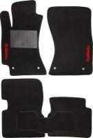 Коврики в салон для Subaru Forester '08-12 текстильные, черные, с сабв.(Стандарт)