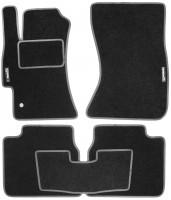 Коврики в салон для Subaru Legacy '04-10 текстильные, серые (Стандарт)