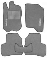 Коврики в салон для Suzuki Jimny '98- текстильные, серые (Стандарт)