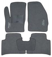 Коврики в салон для Ford C-Max '11- текстильные, серые (Стандарт)