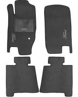 Коврики в салон для Ford Explorer '06-10 текстильные, серые (Стандарт)
