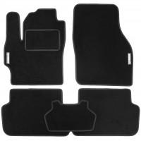 Коврики в салон для Mazda 3 '04-09 текстильные, черные (Стандарт)