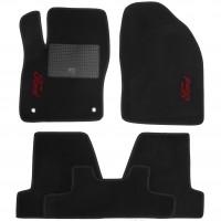 Коврики в салон для Ford Focus III '11- текстильные, черные (Стандарт)