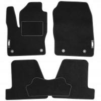 Коврики в салон для Ford Focus III '11-18 текстильные, черные (Стандарт)