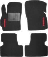 Коврики в салон для Mazda 5 '10- текстильные, черные (Стандарт)