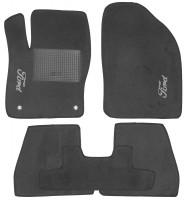 Коврики в салон для Ford Focus III '11- текстильные, серые (Стандарт)
