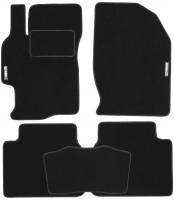 Коврики в салон для Mazda 6 '08-12 текстильные, черные (Стандарт)