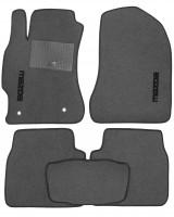 Коврики в салон для Mazda 6 '08-12 текстильные, серые (Стандарт)
