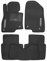 Коврики в салон для Mazda 6 '13- текстильные, серые (Стандарт)