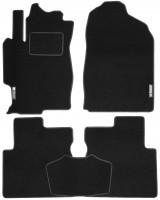 Коврики в салон для Mazda 6 '02-08 текстильные, черные (Стандарт)