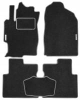 Коврики в салон для Mazda 6 '02-08 текстильные, серые (Стандарт)