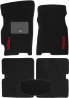 Коврики в салон для Mazda 626 '97-02 (GF) текстильные, черные (Стандарт)