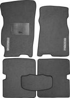 Коврики в салон для Mazda 626 '97-02 (GF) текстильные, серые (Стандарт)