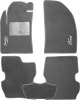 Коврики в салон для Ford Fusion '02-12 текстильные, серые (Стандарт)