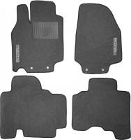 Коврики в салон для Mazda CX-9 '08-16 текстильные, серые (Стандарт)