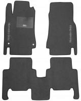 Коврики в салон для Mercedes A-Class W168 '97-04 текстильные, серые (Стандарт)