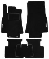Коврики в салон для Mercedes A-Class W169 '04-11 текстильные, черные (Стандарт)