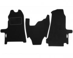 Коврики в салон для Ford Transit '06-13 текстильные, черные (Стандарт)