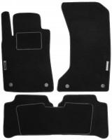 Коврики в салон для Mercedes E-Class W211 '02-09 текстильные, черные (Стандарт)