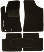 Коврики в салон для Geely Emgrand EC8 '10- текстильные, черные (Стандарт)