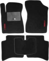 Коврики в салон для Geely MK Sedan '06-14 текстильные, черные (Стандарт)