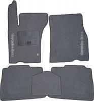 Коврики в салон для Mercedes ML-Class W163 '98-05 текстильные, серые (Стандарт)