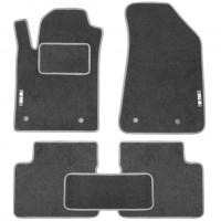 Коврики в салон для Toyota Land Cruiser 100 '98-07 текстильные, серые (Стандарт)