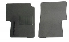 Коврики в салон для Mercedes Vito / Viano '03-13 текстильные, серые (Стандарт) передние