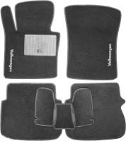 Коврики в салон для Volkswagen Caddy '04-15 текстильные, серые (Стандарт)