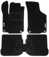 Коврики в салон для Volkswagen Golf IV '97-03 текстильные, черные (Стандарт)