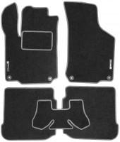 Коврики в салон для Volkswagen Golf IV '97-03 текстильные, серые (Стандарт)